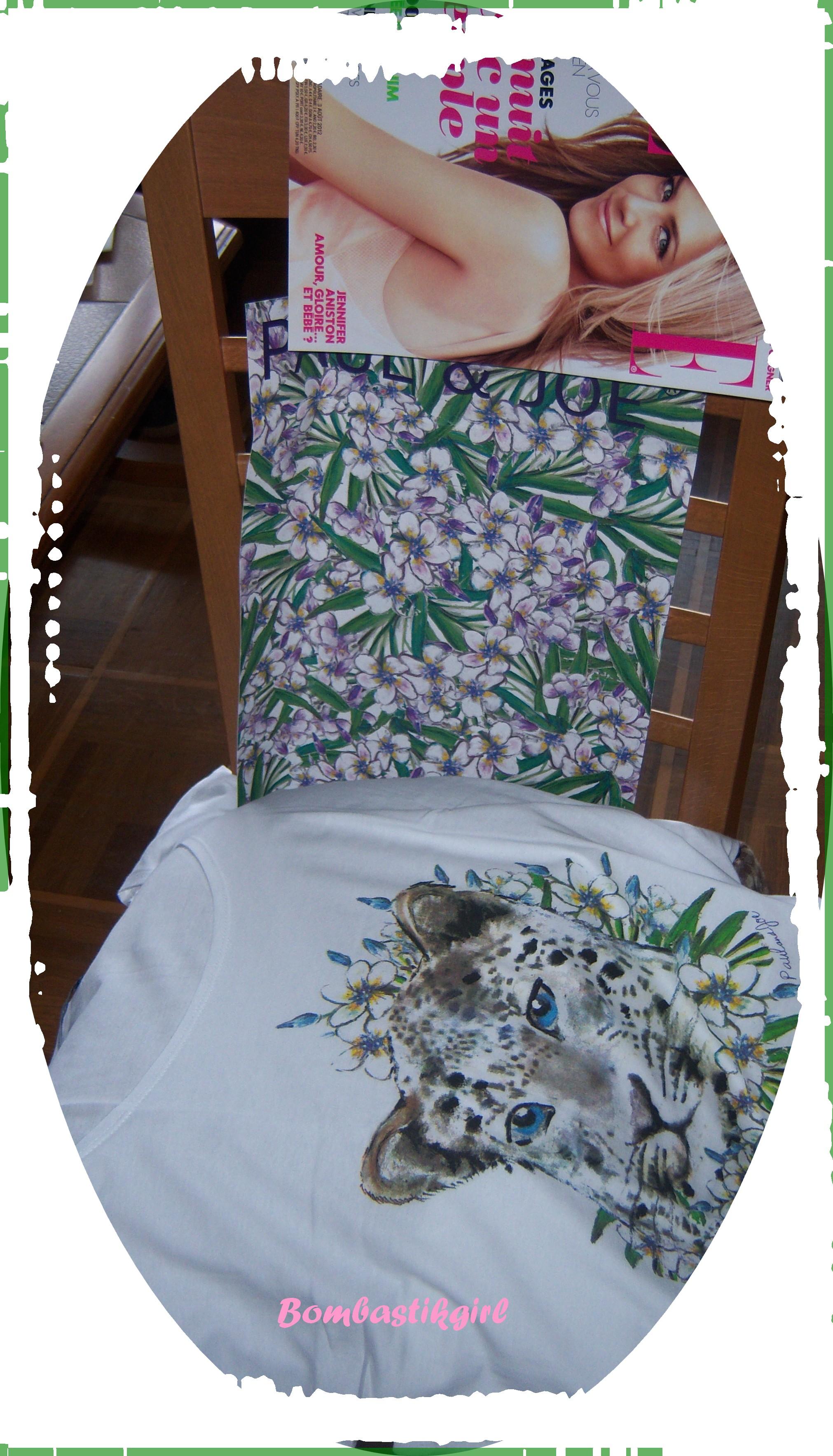 *** Le Tee-shirt Paut & Joe dans le Elle de cette semaine ***