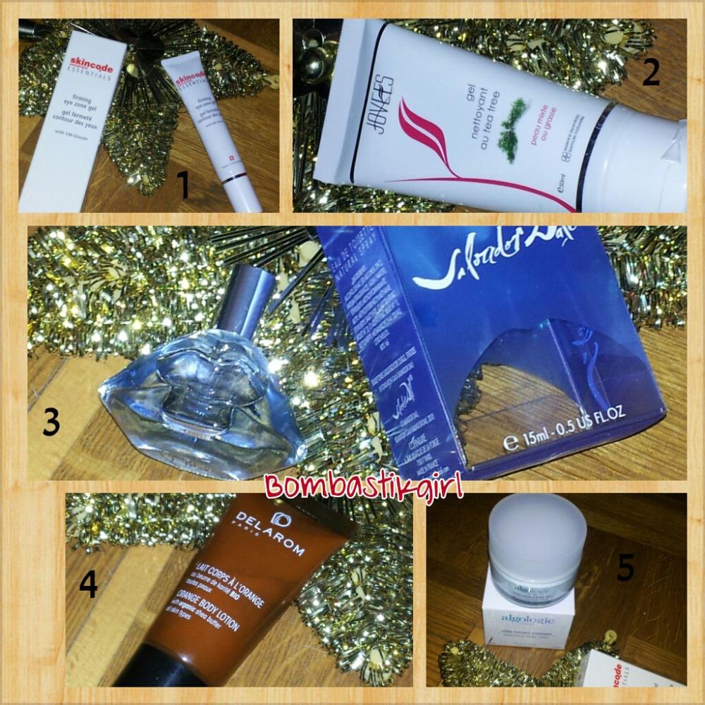*** Ma boîte à beauté, édition novembre 2012, encore plus de découverte *** (2/3)