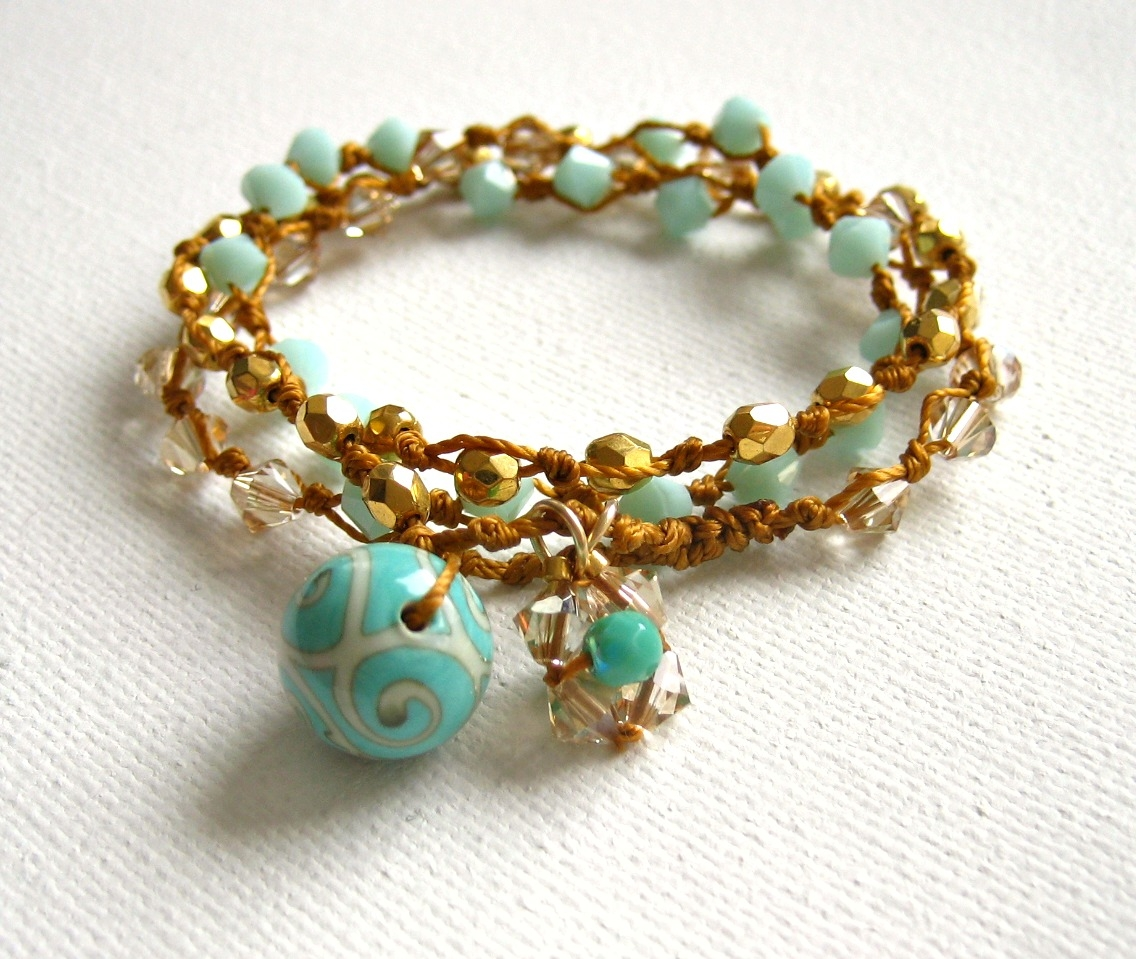 bracelet--bracelet-multitours-en-perles-ver-2546811-brac-or-turquoi-3.1-5c611_big