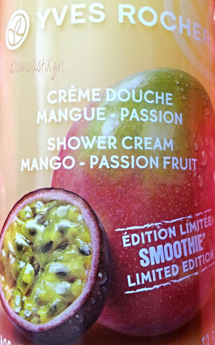 crème douche Yves Rocher