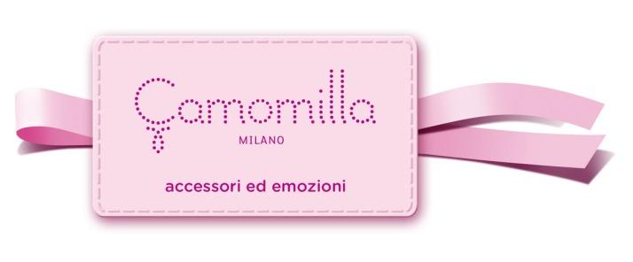 Camomilla Ribbon Logo cw tagline
